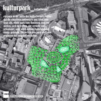 Finsterwalder Architekten / kulturpark_kulturforum