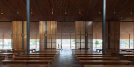 Rückkehr des Genius Loci, Neubau der Pfarrkirche Kadon, Vietnam; Architekten: Thi Thu Huong Vu und Tuan Dung Nguyen