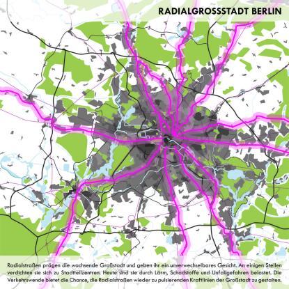 Harald Bodenschatz + Aljoscha Hofmann + Christian vom Oppen: Radialgrosstadt Berlin